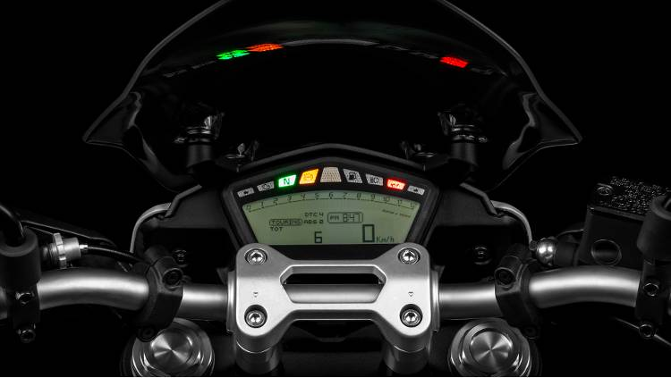Ducati Hyperstrada cruscotto